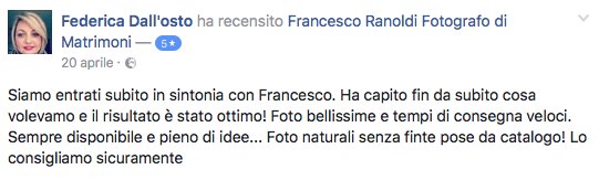 Francesco Ranoldi Photographer - Federica