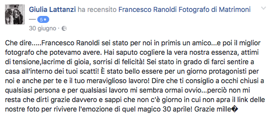 Francesco Ranoldi Photographer - Giulia