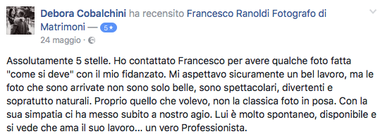 Francesco Ranoldi Photographer - Debora