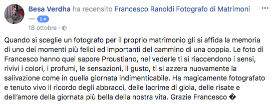 Francesco Ranoldi Photographer - besa