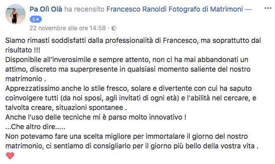 Francesco Ranoldi Photographer - paoliola