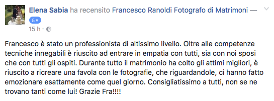 Francesco Ranoldi Photographer - sabia