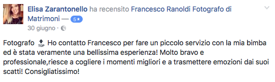 Francesco Ranoldi Photographer - Eli