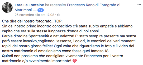 Francesco Ranoldi Photographer - laralafotaine