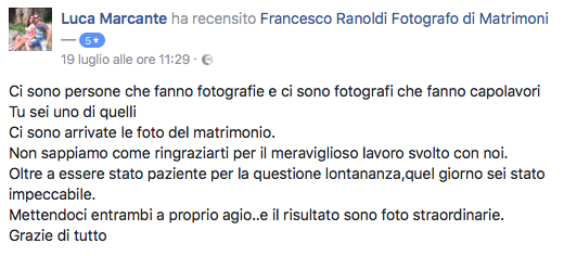 Francesco Ranoldi Photographer - Luca