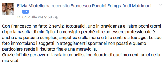 Francesco Ranoldi Photographer - Silvia